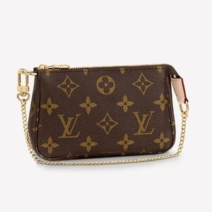 SOLD. Louis Vuitton Mini Pouchette